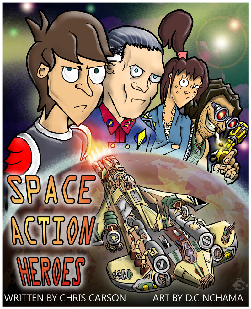 Space action heroes - issue 1