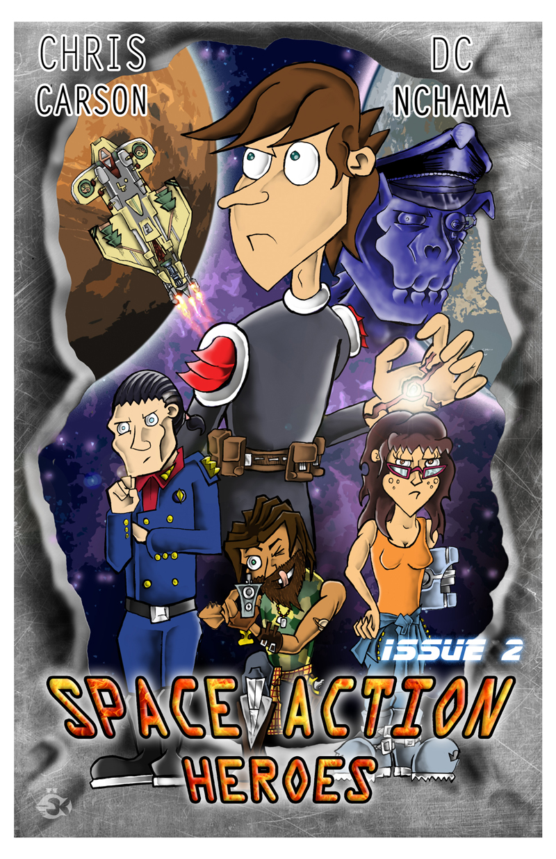 Space Action Heroes Issue 2