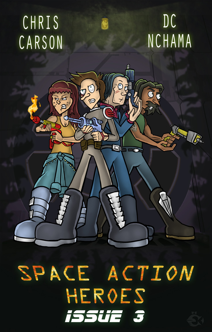 Space Action Heroes Issue #3