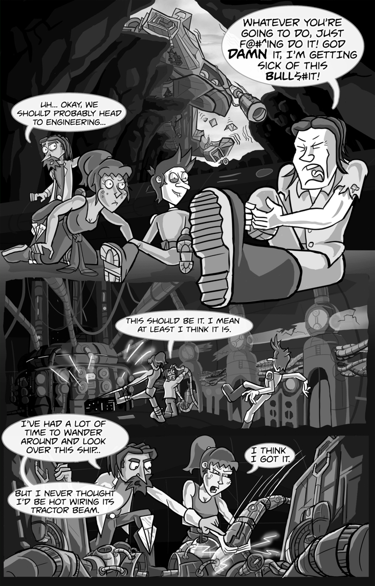 Space Action Heroes #4 - page 9
