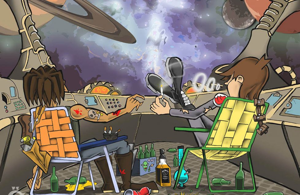 Space Action Heroes creators