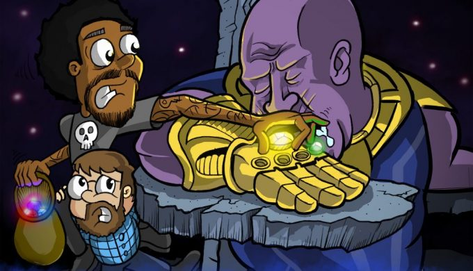 Space Action Podcast! Ep. 5 – Avengers Infinity War.