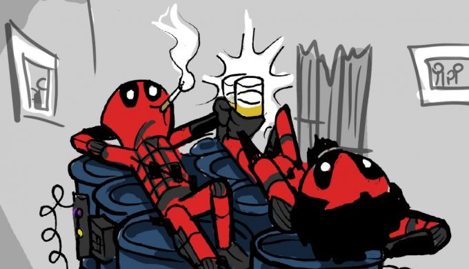 Space Action Podcast v. Deadpool 2!